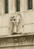 Egyptian-style relief Stock Image