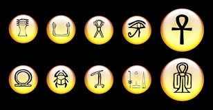 Egyptian symbol Royalty Free Stock Images