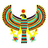 Egyptian symbol of falcon Royalty Free Stock Photography