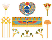 Egyptian symbols Stock Photos