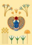 Egyptian symbols Royalty Free Stock Image