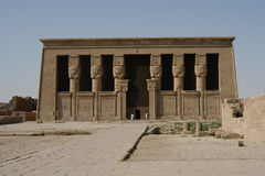Egyptian temple Royalty Free Stock Image