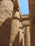 Egyptian temple Royalty Free Stock Photos