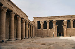 Egyptian temple Royalty Free Stock Photography