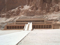 Egyptian Temple. Ancient historic egyptian temple in luxor egypt Royalty Free Stock Photo
