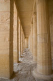 Egyptian temple columns Royalty Free Stock Photography