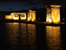 Egyptian Temple of Debod Stock Photo