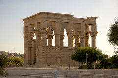 Egyptian temple ruins Royalty Free Stock Image