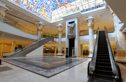 Egyptian themed Wafi mall in Dubai Royalty Free Stock Photos