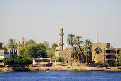 Egyptian town Royalty Free Stock Image