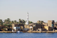 Egyptian town Stock Photography