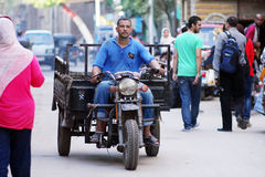 egypt cairo street view Stock Image