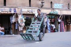 Egyptian worker Stock Photo