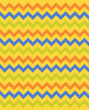 Egyptian zigzag pattern Stock Image