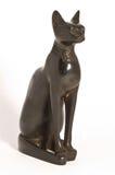 Egyptien Cat Statue II Images libres de droits