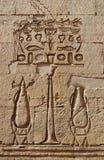 egyptier inristad bildvägg Royaltyfria Bilder