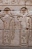 egyptier inristad vägg Fotografering för Bildbyråer