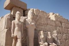 Egyptions-Ruinen Stockfotografie