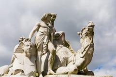 Egyptisch Albert Memorial in Londen, het UK royalty-vrije stock foto's