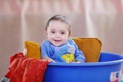 Egyptisch babymeisje royalty-vrije stock fotografie