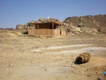 Egyptisch dorp Royalty-vrije Stock Afbeelding