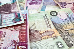 Egyptisch geld royalty-vrije stock afbeelding
