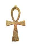 Egyptisch kruis stock fotografie
