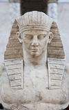 Egyptisch model royalty-vrije stock foto