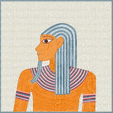 Egyptisch mozaïek Stock Foto