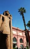 Egyptisch museum stock afbeelding