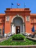 Egyptisch Museum in Sq Tahrir, Kaïro royalty-vrije stock afbeelding