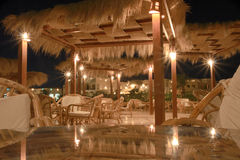 Egyptisch restaurant Royalty-vrije Stock Foto's