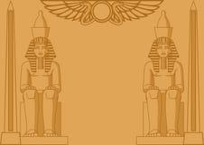 Egyptische Achtergrond Stock Foto