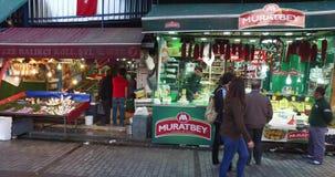Egyptische Bazaar stock footage