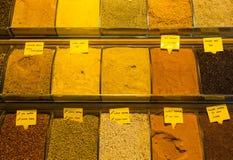 Egyptische Bazaar en de Grote Bazaar stock fotografie