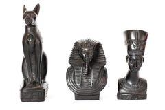 Egyptische beeldjes Egyptische cultuur en erfenis royalty-vrije stock foto