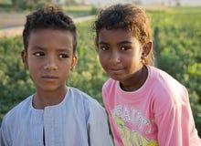 Egyptische broers Stock Afbeeldingen