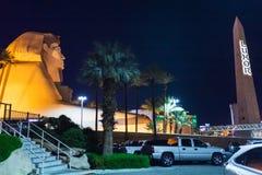 Egyptische decoratieve elementen voor Luxor-Hotel van Las Vegas Stock Afbeeldingen