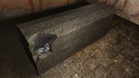 Egyptische faraobrij in een graf Royalty-vrije Stock Foto's