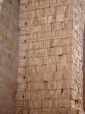 Egyptische fresko. Textuur en achtergrond. Stock Foto's