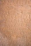 Egyptische hiëroglief Royalty-vrije Stock Foto