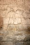 Egyptische Hiërogliefen. royalty-vrije stock afbeeldingen
