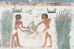 Egyptische illustratiegravure Royalty-vrije Stock Fotografie