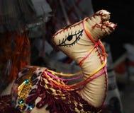 Egyptische kameel in een stoffenwinkel Royalty-vrije Stock Foto's