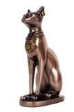 Egyptische kat (Bastet) Stock Foto
