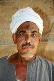 Egyptische mens Royalty-vrije Stock Foto's
