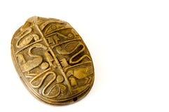 Egyptische mestkever Stock Foto's