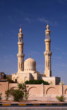 Egyptische moskee Royalty-vrije Stock Afbeeldingen