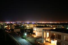 Egyptische nacht Stock Fotografie