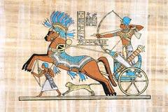 Egyptische papyrus Stock Foto's